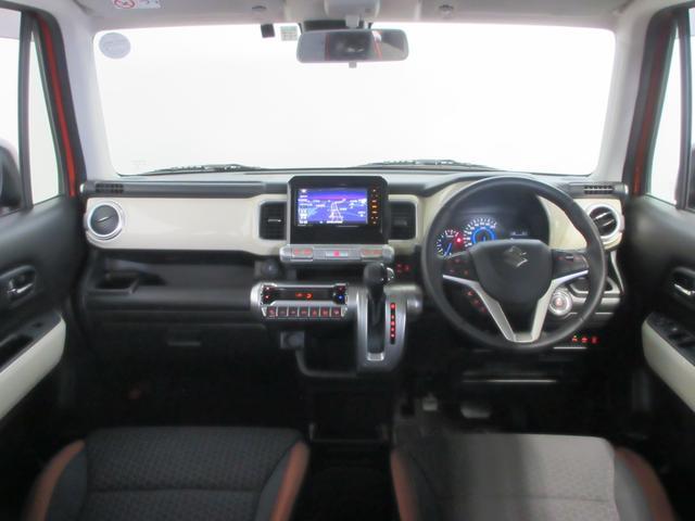 ハイブリッドMZ 4WD 純正ナビ TV DVD再生 Bluetooth接続 USB 全方位モニター スズキセーフティサポート 誤発進抑制機能 グリップコントロール ヒルディセントコントロール LEDライト 1年保証(4枚目)