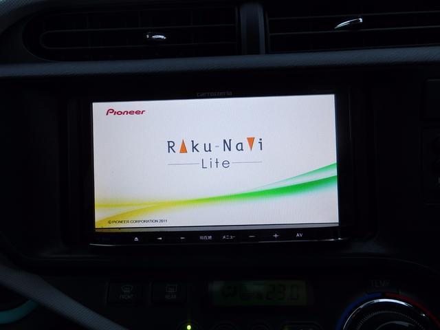 トヨタ アクア S メモリーナビワンセグTV バックカメラ ETC キーレス