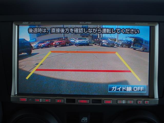★暗いときでも高感度で確認できることが出来るのがバックカメラです。縦列駐車も安心できます★