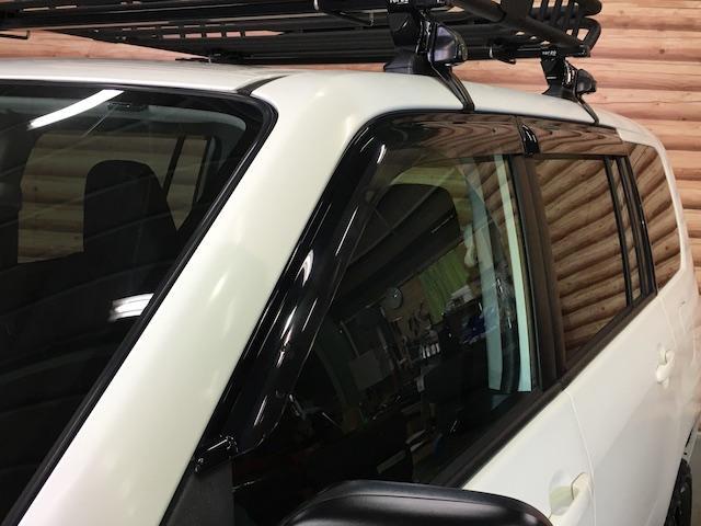 GL 4WD 2インチリフトアップ エクストリームJアルミ マッドスターM/T 各所ブラック塗装 ルーフキャリアー レガリア製シートカバー 電動格納ミラー シートリフター キーレス ETC スペアキー(22枚目)