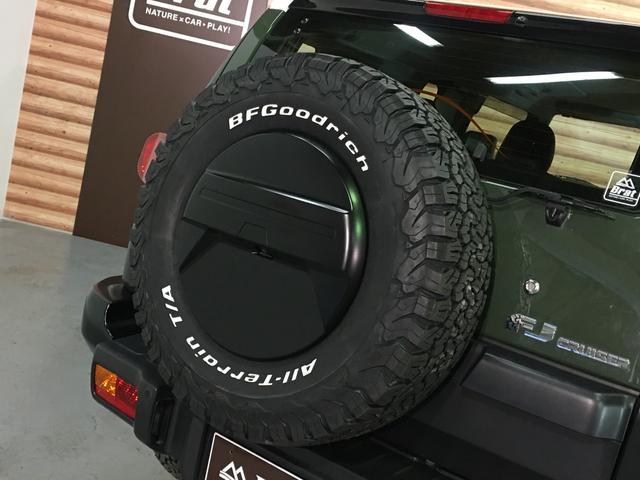ベースグレード KMC製17インチAW 新品BFグッドリッチA/T 2インチリフトアップ Bratオリジナルコイル LEDウィンカー 各所ブラック塗装 BFグッドリッチA/T KO2 Fガラス熱線 A-TRAC(42枚目)