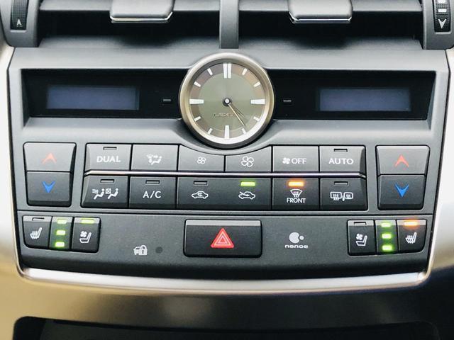 NX200t バージョンL サンルーフ パワーバックドア 純正ナビ 電動格納セカンドシート S/Bカメラ シートヒーター/シートエアコン 革シート パワーシート シートメモリー 三眼LEDヘッドライト ドラレコ 100V電源(19枚目)