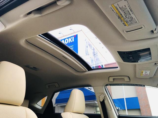 NX200t バージョンL サンルーフ パワーバックドア 純正ナビ 電動格納セカンドシート S/Bカメラ シートヒーター/シートエアコン 革シート パワーシート シートメモリー 三眼LEDヘッドライト ドラレコ 100V電源(36枚目)