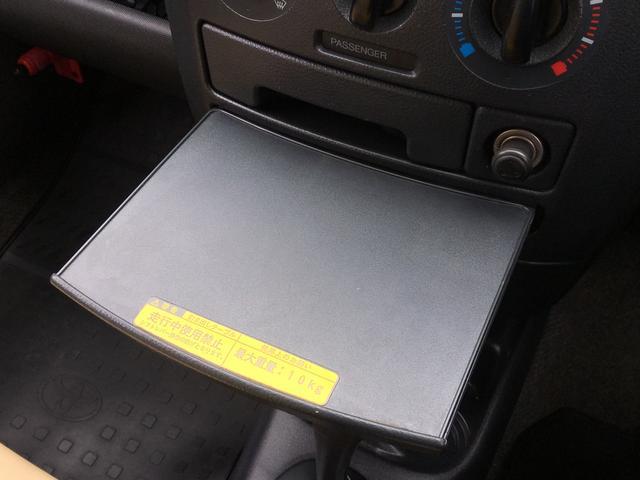 DXコンフォートパッケージ 4WD 2インチリフトアップ マキシス(新品タイヤ)ルーフラック レガリア製シートカバー 木目調ラゲージマット ハンドルカバー 純正ゴムマット ライトレベライザー キーレス 引き出しテーブル(8枚目)