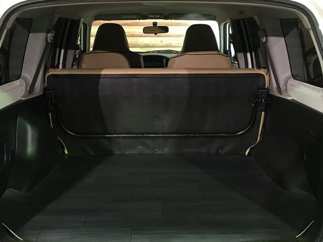 DXコンフォートパッケージ 4WD 2インチリフトアップ マキシス(新品タイヤ)ルーフラック レガリア製シートカバー 木目調ラゲージマット ハンドルカバー 純正ゴムマット ライトレベライザー キーレス 引き出しテーブル(19枚目)