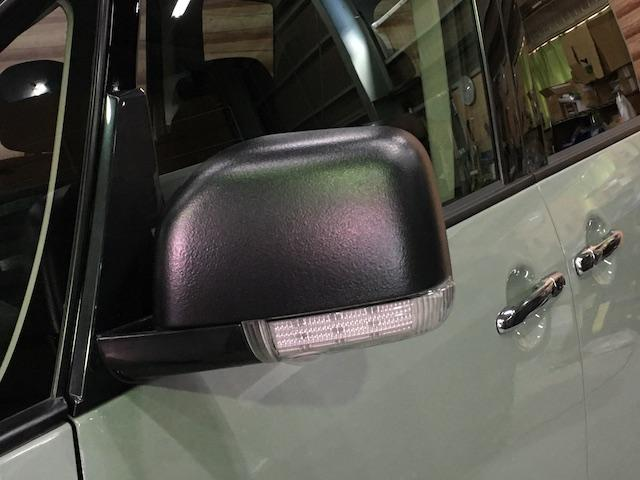 シャモニー NEWペイント/ツイードグレー 1.5インチリフトアップ BFグッドリッチKO2タイヤ新品 TT製16インチAW新品 腰下ラインX調・マッドブラックペイント 切替4WD 前席シートヒーター ETC(18枚目)