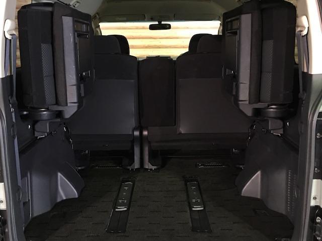 シャモニー NEWペイント/ツイードグレー 1.5インチリフトアップ BFグッドリッチKO2タイヤ新品 TT製16インチAW新品 腰下ラインX調・マッドブラックペイント 切替4WD 前席シートヒーター ETC(49枚目)