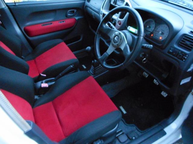 5MT4WD 赤レカロシート ターボタイマー(13枚目)