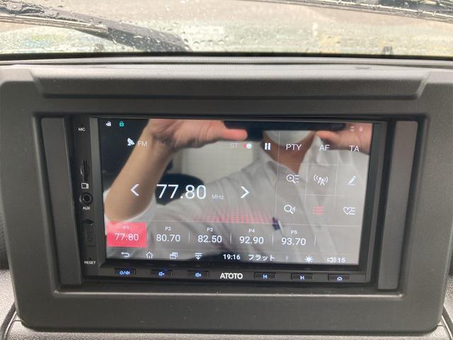 XL 4WD 7インチワイドスクリーンアンドロイド シートヒーター スマートキー 特注アーミーグリーン オフロードウインチバンパー 電動ウインチ リフトアップ オフロードルーフラック リアラダー 社外LED(5枚目)