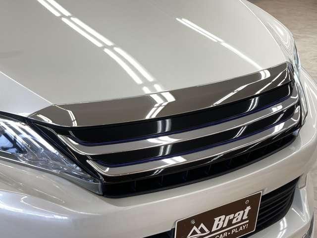 プレミアム 4WD ワンオーナー モデリスタフルエアロ モデリスタグリル 純正9インチSDナビ 禁煙車 純正18インチAW 運転席パワーシート クルコン LEDヘッドライト バックカメラ パワーバックドア(7枚目)