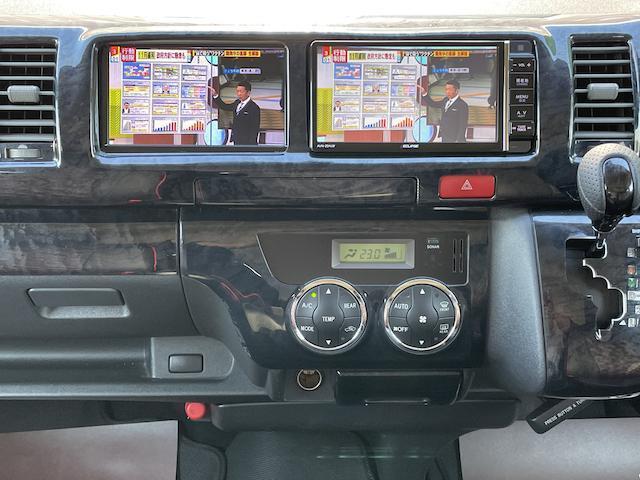 ロングスーパーGL 3型 4WD ベット 新品BFグッドリッチ JAOSオーバーフェンダー ブルバー クラッツィオシートカバー 黒木目パネル/ステアリング/シフト ツインモニター スクリーンドア(アミ戸)ハンガーレール(31枚目)