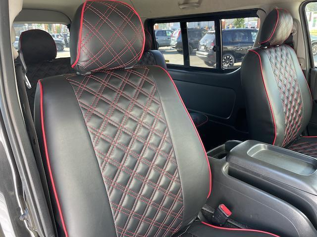 ロングスーパーGL 3型 4WD ベット 新品BFグッドリッチ JAOSオーバーフェンダー ブルバー クラッツィオシートカバー 黒木目パネル/ステアリング/シフト ツインモニター スクリーンドア(アミ戸)ハンガーレール(36枚目)