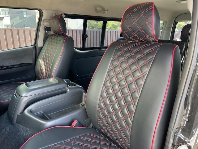 ロングスーパーGL 3型 4WD ベット 新品BFグッドリッチ JAOSオーバーフェンダー ブルバー クラッツィオシートカバー 黒木目パネル/ステアリング/シフト ツインモニター スクリーンドア(アミ戸)ハンガーレール(41枚目)