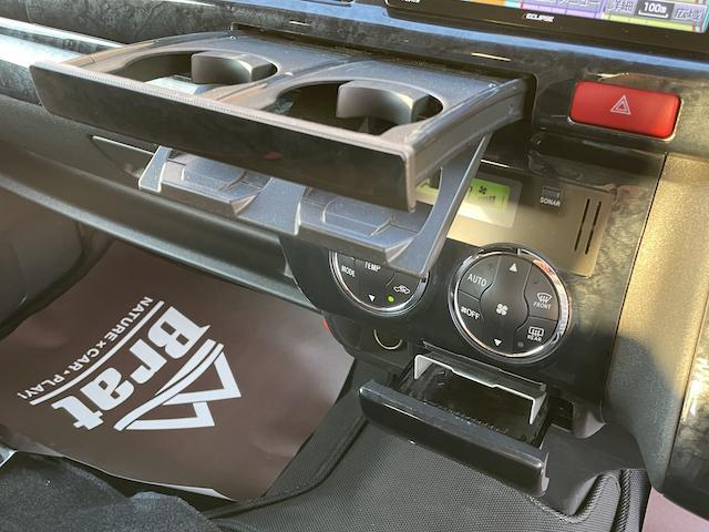 ロングスーパーGL 3型 4WD ベット 新品BFグッドリッチ JAOSオーバーフェンダー ブルバー クラッツィオシートカバー 黒木目パネル/ステアリング/シフト ツインモニター スクリーンドア(アミ戸)ハンガーレール(50枚目)