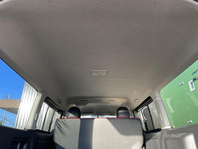 ロングスーパーGL 3型 4WD ベット 新品BFグッドリッチ JAOSオーバーフェンダー ブルバー クラッツィオシートカバー 黒木目パネル/ステアリング/シフト ツインモニター スクリーンドア(アミ戸)ハンガーレール(60枚目)