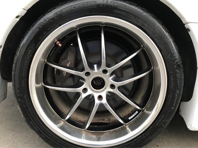 トヨタ スープラ SZ-R 純正MT6速 社外ワーク19インチアルミホイール