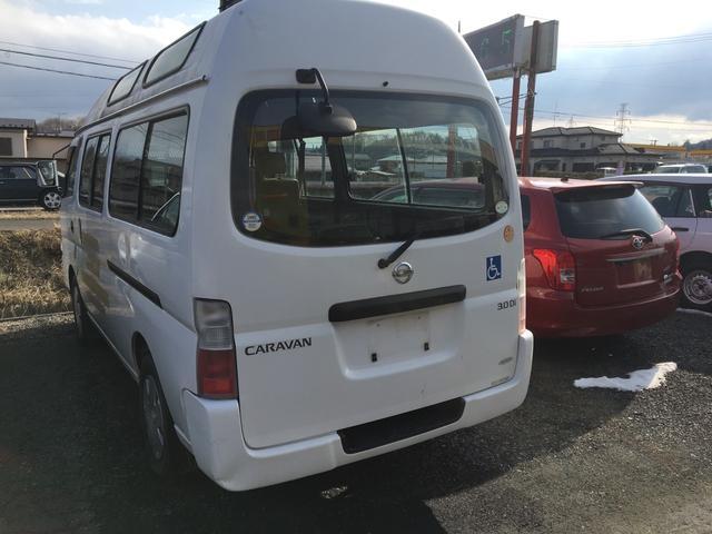 日産 キャラバンマイクロバス スライドドア エアバッグ パワーウィンドウ 4WD