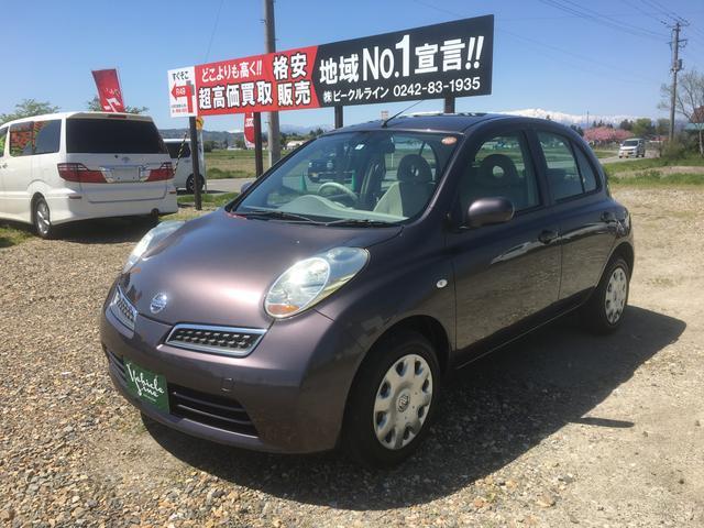 「日産」「マーチ」「コンパクトカー」「福島県」の中古車7