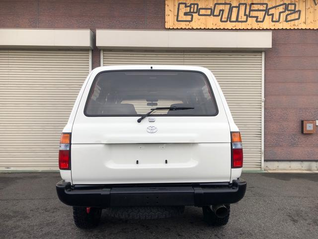 「トヨタ」「ランドクルーザー80」「SUV・クロカン」「福島県」の中古車5