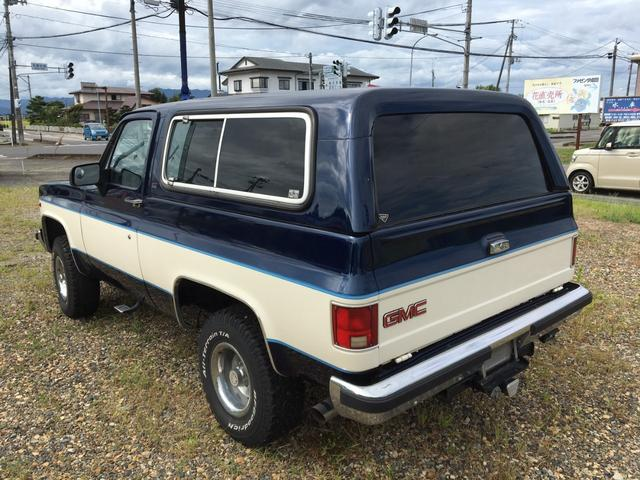 「その他」「GMCジミー」「SUV・クロカン」「福島県」の中古車10