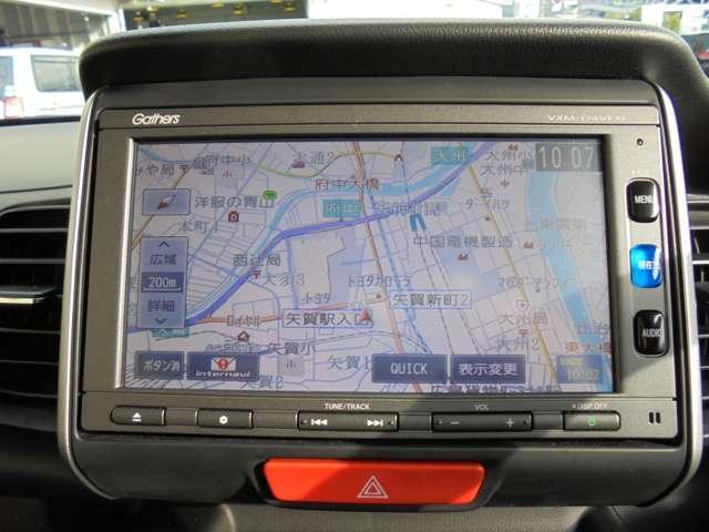 ホンダ N BOX G・ターボLパッケージ メモリーナビ フルセグ CD Rカ