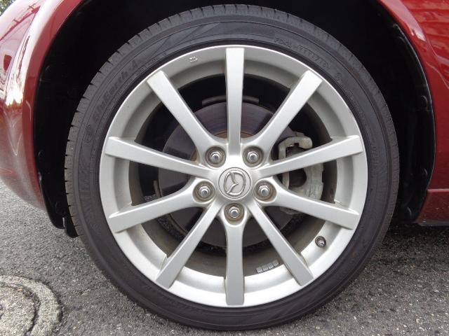 マツダ ロードスター RS HID 本革シート 社外HDDナビ 6MT 1年保証