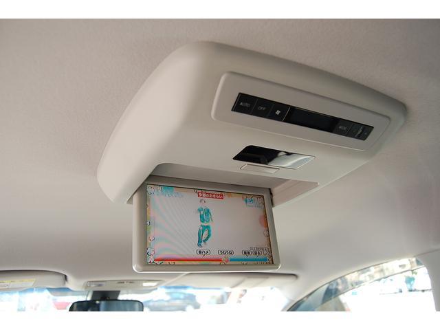 マツダ MPV 23T 社外HDDナビ 後席モニター 両側PSドア 後期型
