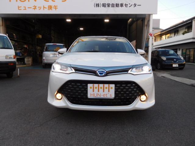 「トヨタ」「カローラフィールダー」「ステーションワゴン」「広島県」の中古車3