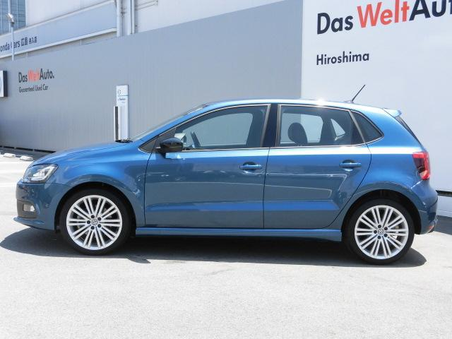 フォルクスワーゲン VW ポロ ブルーGT SDナビ キセノンヘッドライト 認定中古車