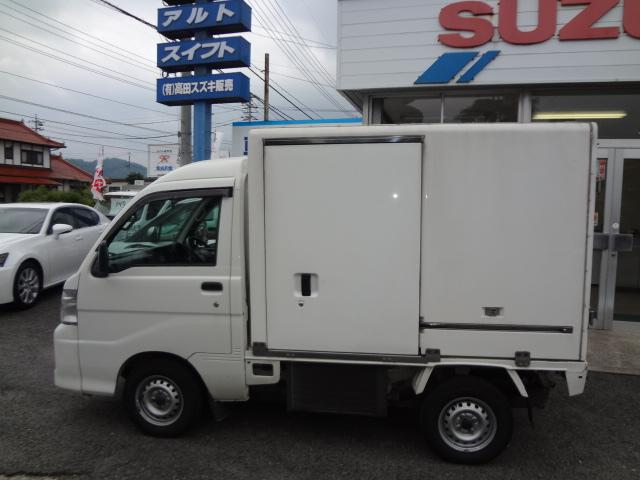 ダイハツ ハイゼットトラック 冷蔵冷凍車 4WD 両側スライドドア 中温ー7℃