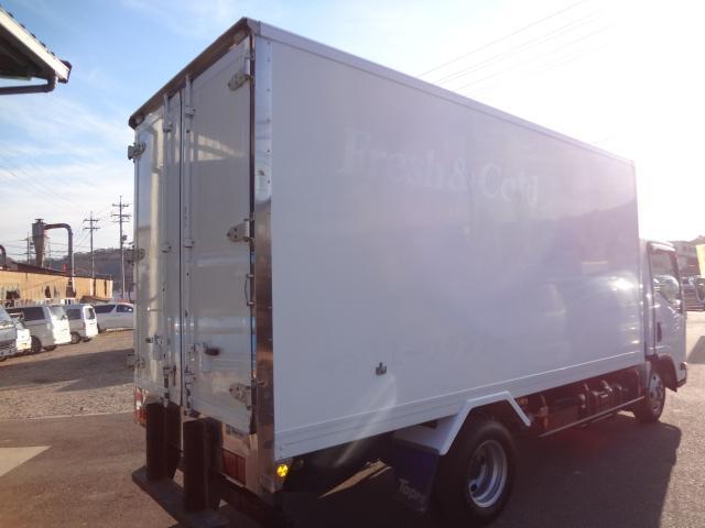 いすゞ エルフトラック 冷蔵冷凍車 低温 積載量2950kg ロング キーストン