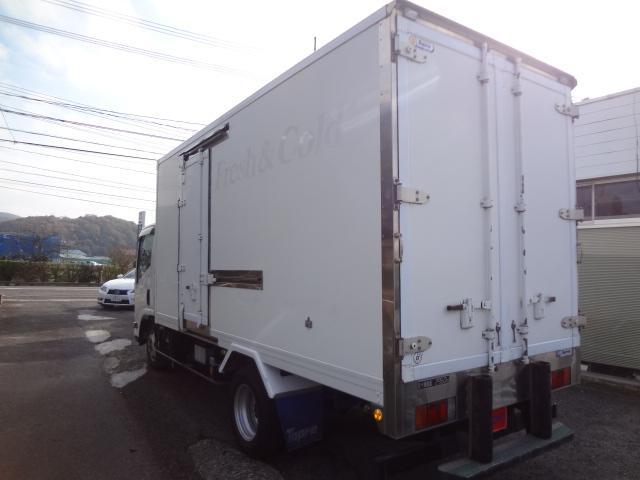 冷蔵冷凍車 低温 積載量2950kg ロング キーストン (9枚目)
