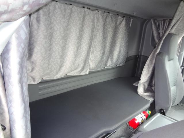 冷蔵冷凍車 低温-30℃ 仕切り有 ベット付き エアサス(14枚目)