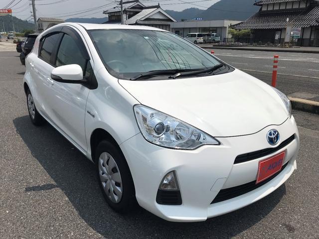 「トヨタ」「アクア」「コンパクトカー」「広島県」の中古車3