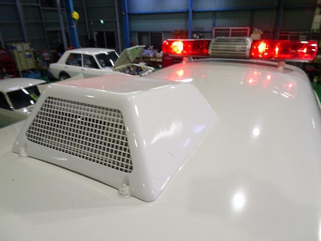 SロングDX スーパーロングボディ ハイルーフ ディーゼルターボ 特装救急車 4WD 医療法人1オーナー 禁煙車 走行23.000km 実走行車 ツインAC パトライト パワーアンプ マイク ボンドメーター(35枚目)