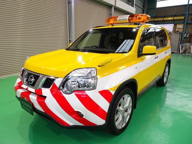 20GT ディーゼルターボ 4WD 道路維持パトロール車 ナビ DTV バックモニター レザーシート キセノンヘッドライト LEDフォグ(2枚目)