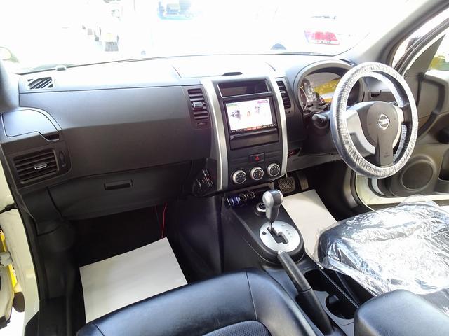 20GT ディーゼルターボ 4WD 道路維持パトロール車 ナビ DTV バックモニター レザーシート キセノンヘッドライト LEDフォグ(10枚目)