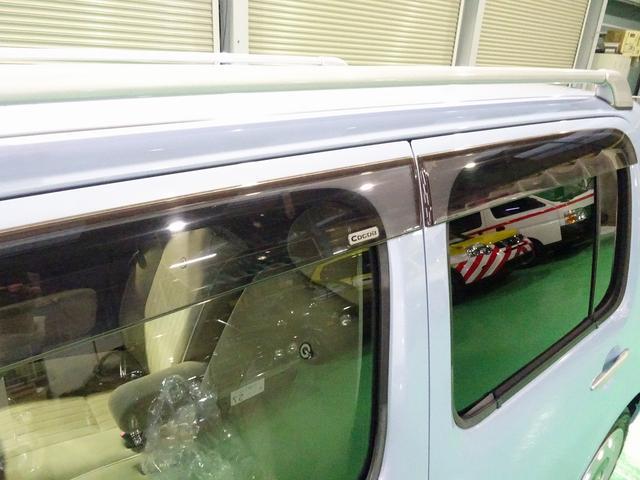 ココアプラスG ルーフレール ナビ フルセグTV バックモニター キーフリー ウインカーミラー フルオートAC(20枚目)