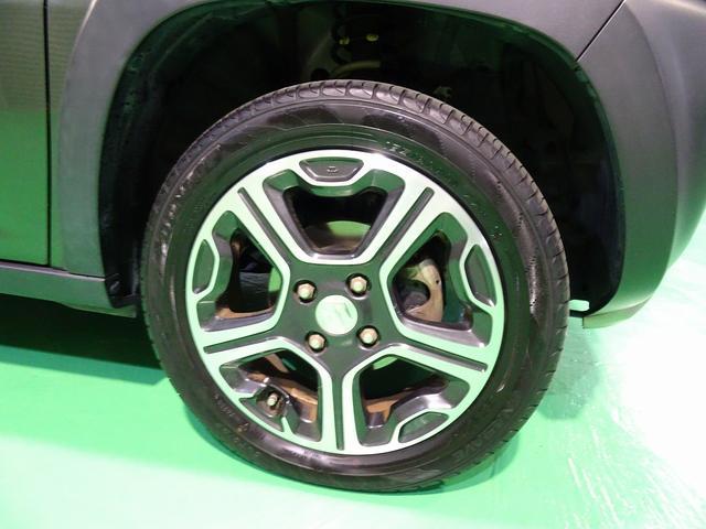 Xターボ 4WD SDナビ 4チューナーフルセグTV バックモニターHIDヘッドライト フォグ キーフリー ルーフレール(37枚目)