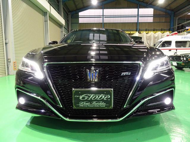 RSアドバンス トヨタセーフティーセンス 後期 大型ナビフルセグBモニター ETC 黒革エアーシート SR全 LEDヘットフォグ ヘットアップディスプレー シンケンシャルウィンカー ブラインドスポットモニター(7枚目)