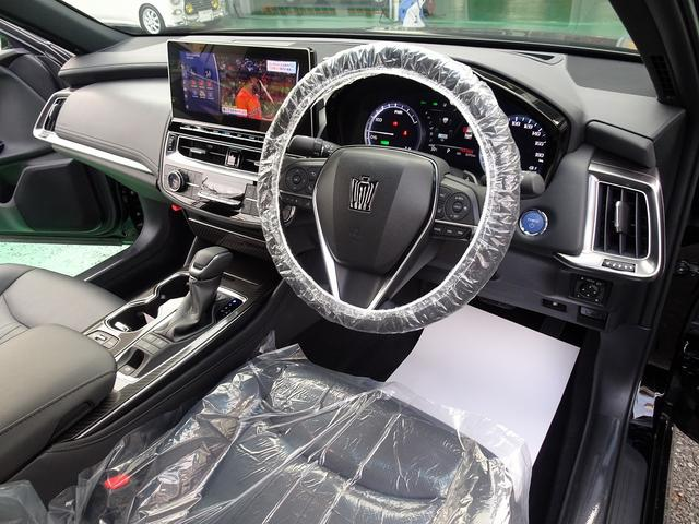 RSアドバンス トヨタセーフティーセンス 後期 大型ナビフルセグBモニター ETC 黒革エアーシート SR全 LEDヘットフォグ ヘットアップディスプレー シンケンシャルウィンカー ブラインドスポットモニター(9枚目)