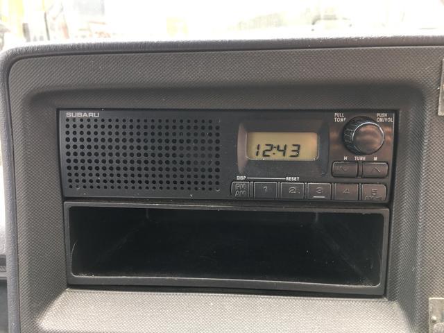 スバル サンバーバン 660 エアコン パワステ