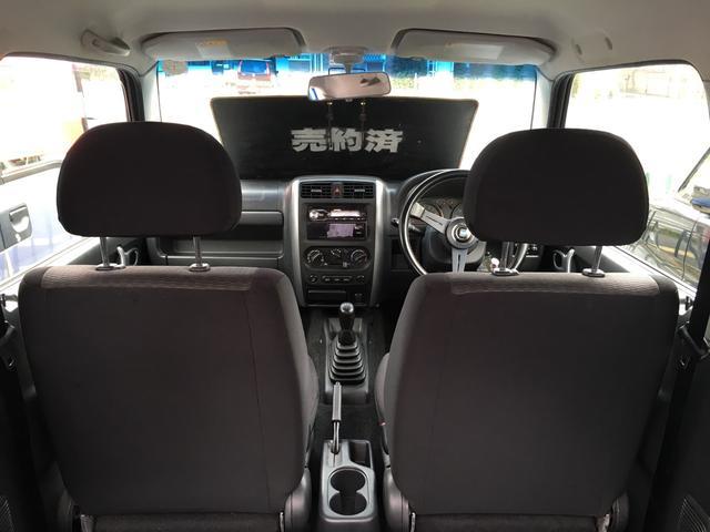マツダ AZオフロード XC 社外マフラー 社外ハンドル
