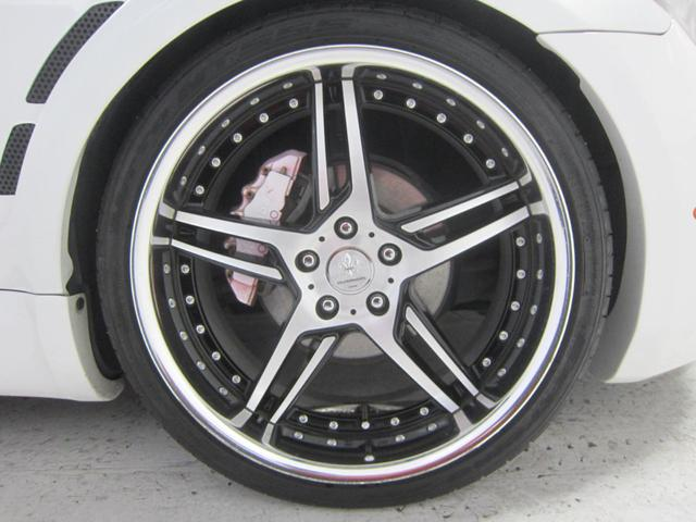 SC430 車高調 エアロ 赤革シート 20インチアルミ(11枚目)