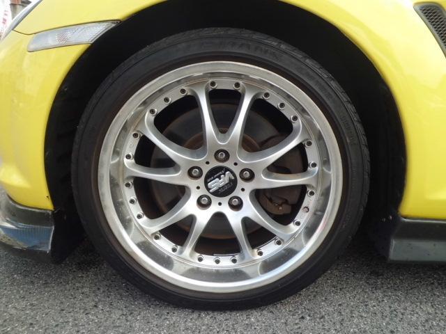 タイプS 車高調 カーボンリップ サイドスポイラー(13枚目)