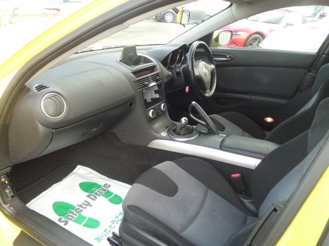 マツダ RX-8 タイプS 車高調 カーボンリップ サイドスポイラー