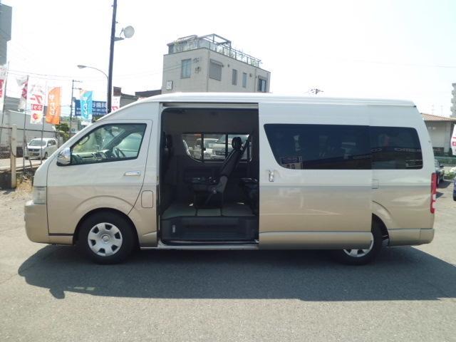 トヨタ ハイエースワゴン グランドキャビン ナビBIGX リアモニター パワースライド