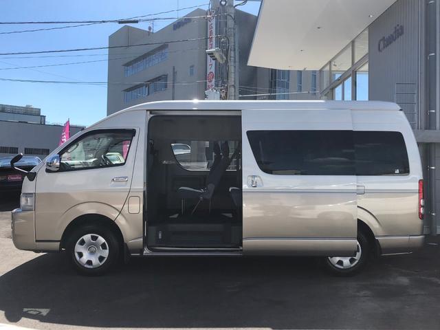 トヨタ ハイエースワゴン グランドキャビン HDDナビ Bカメラ パワースライドドア