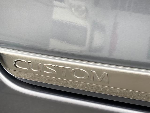 カスタムRS 禁煙車 4WD インタークーラーターボ CD AUX HIDヘッドライト スマートキー オートエアコン AW15インチ 盗難防止システム フルフラット(41枚目)
