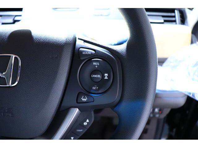 クルーズコントロールです!アクセルペダルを踏まずに定速走行が可能です。高速道路などでの運転がより快適になります!